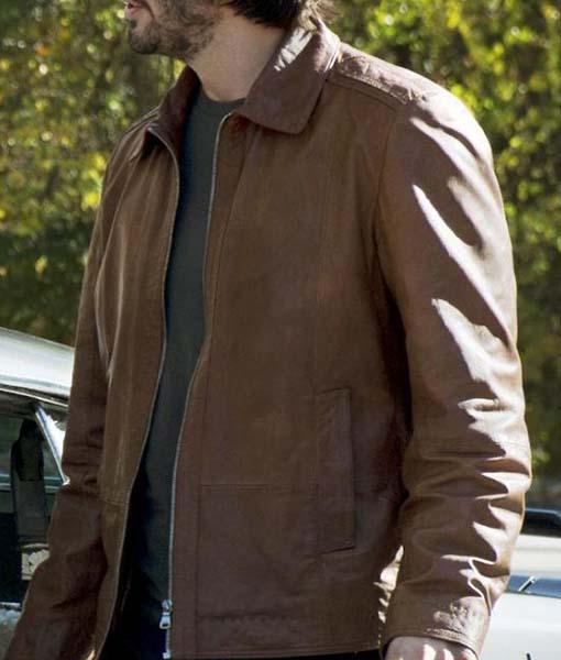 Keanu Reeves John Wick Brown Jacket