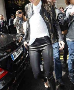 Kendall Jenner Studded Black Jacket