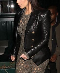 Kim Kardashian Black Blazer