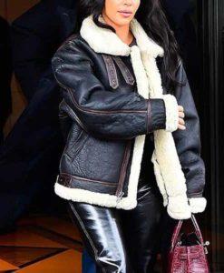 Kim Kardashian Black Jacket