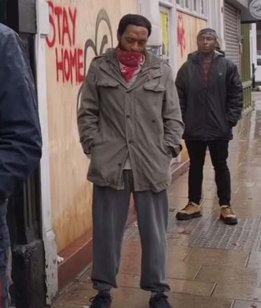 Locked Down (2021) Chiwetel Ejiofor Cotton Jacket