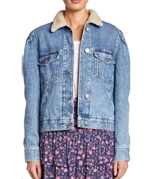 Sara Yang Love Life Denim Jacket