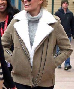 Margot Robbie Leather Jacket