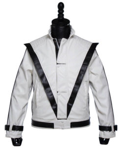 Michael Jackson White Thriller Jacket