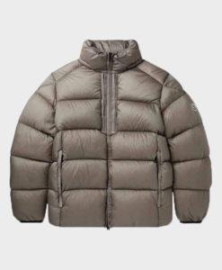 Nicole Mens Grey Puffer Jacket