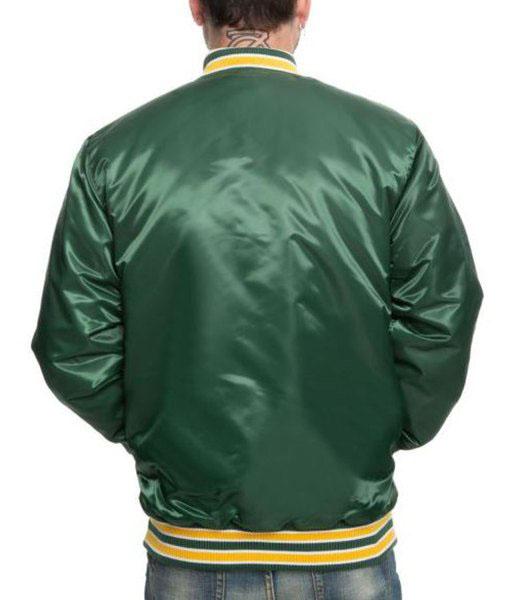 Oakland A's Starter Green Jacket