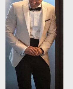 Ryan Reynolds Red Notice White Blazer