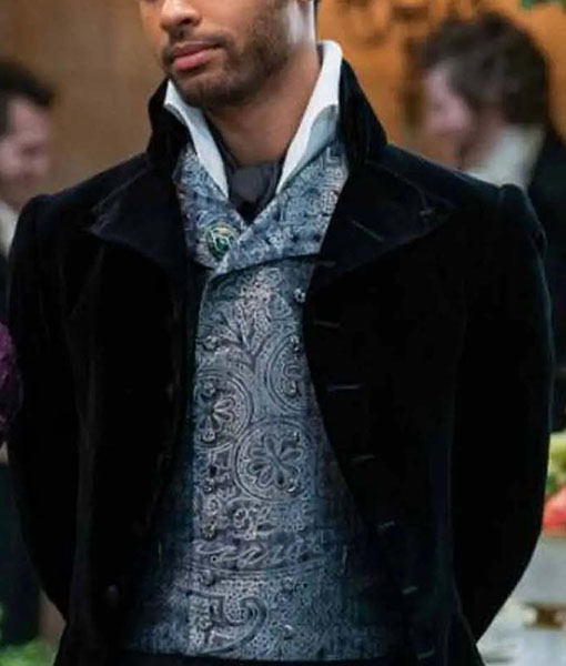 Simon Basset Bridgerton Black Tailcoat