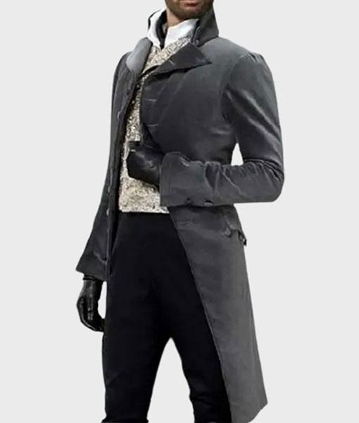 Simon Basset Bridgerton Grey Tailcoat