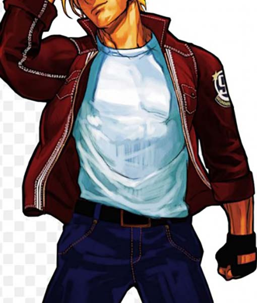 Terry Bogard The King of Fighters XIV Red Jacket