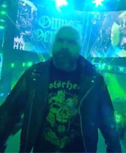 WWE Triple H Black Motorcycle Jacket