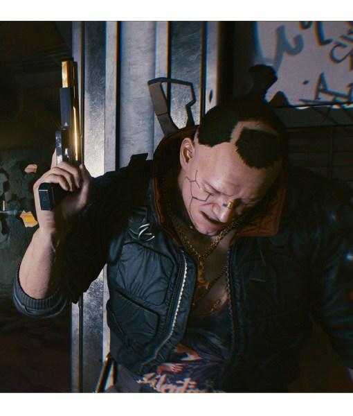 Jackie Welles Cyberpunk 2077 Black Jacket