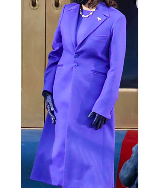 Kamala Harris's Purple Coat