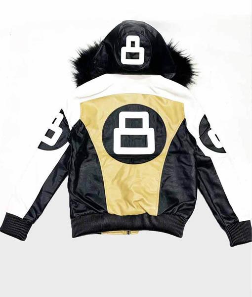 8 Ball David Puddy Golden Jacket