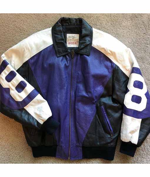 8 Ball David Puddy Purple Jacket