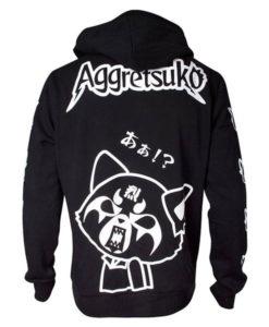 Aggretsuko Black Hoodie