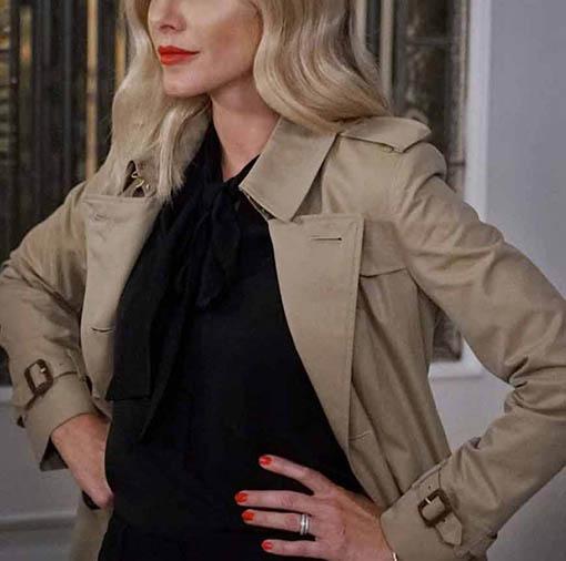 Laura Fine-Baker All American S03 Coat