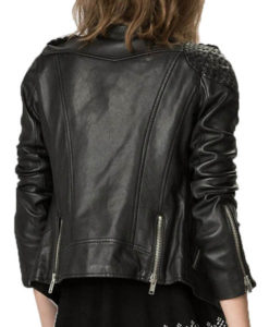 Laurel Lance Arrow Leather Jacket