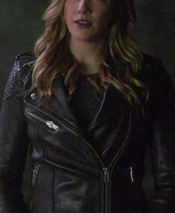Laurel Lance Arrow Leather Jacket