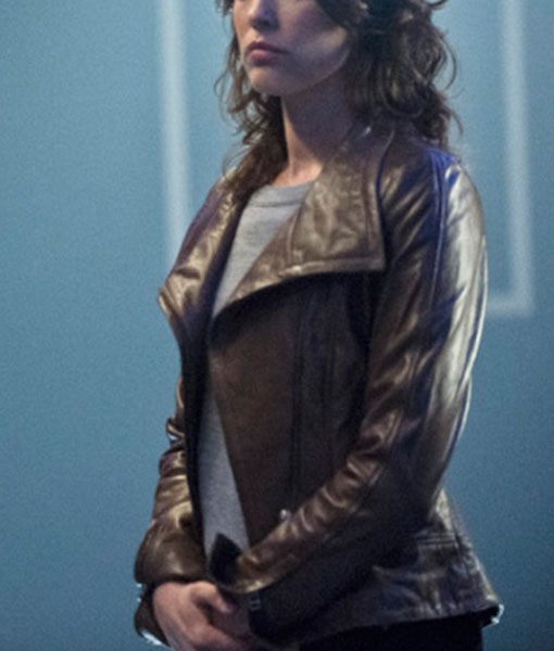 Lyla Michaels Arrow Leather Jacket