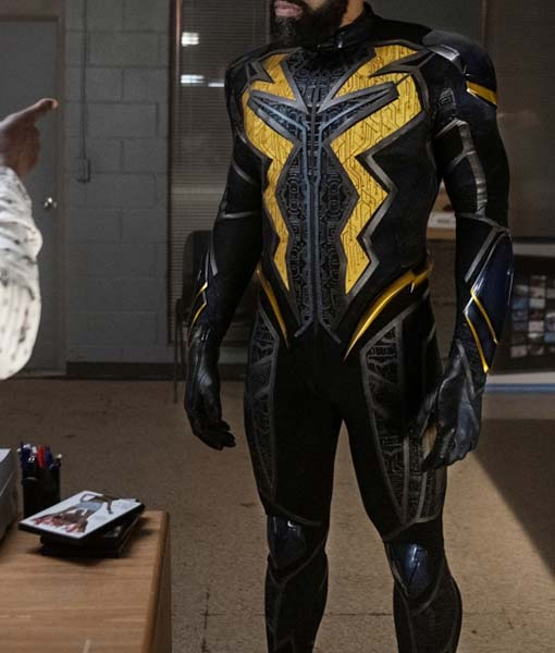 Jefferson Pierce Black Lightning S04 Jacket