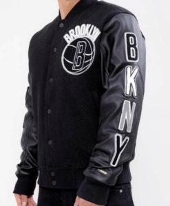 Brooklyn Nets Varsity Jacket