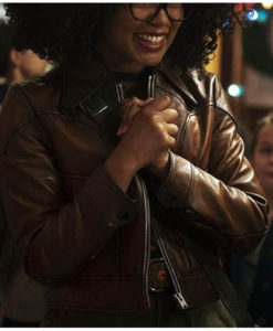 Rosalind Walker Chilling Adventures of Sabrina Cropped Jacket