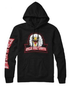 Eagle Fang Karate Black Hoodie