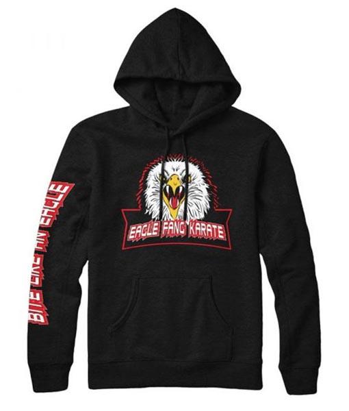 Eagle Fang Karate Black Hoodie