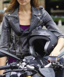 Gisele Fast Five Leather Jacket