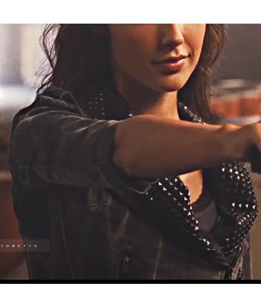 Gisele Fast Five Leather Jacket