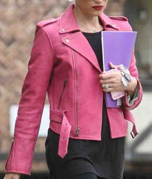 Gwen Stefani Pink Jacket