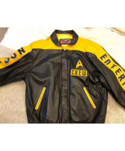 Jeff Hamilton F&F Star Trek Leather Crew Jacket