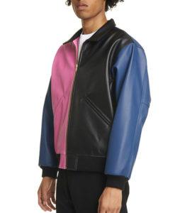 Justin Bieber Bomber Leather Jacket
