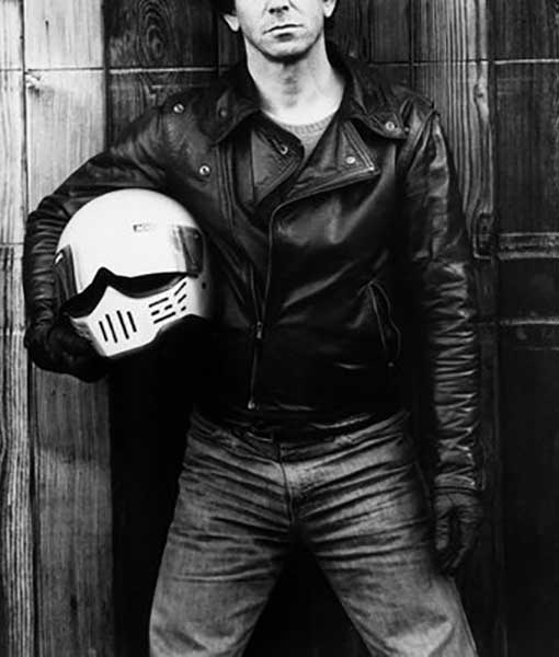 Lou Reed Musician Leather Jacket