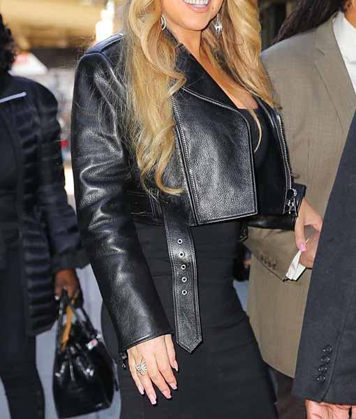 Mariah Carey Leather Jacket