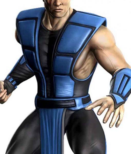 Sub-Zero Mortal Kombat Leather Vest