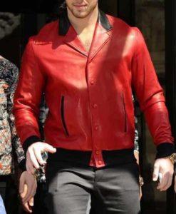 Nick Jonas London Visit Jacket