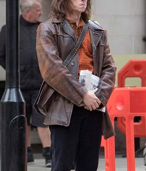 Bernie Taupin Rocketman Leather Jacket