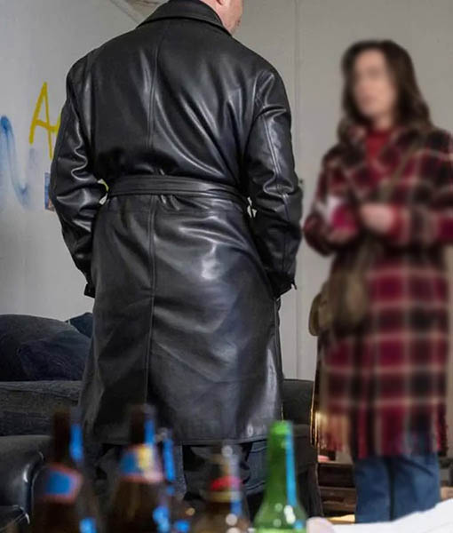 Andri The Drowning Leather Coat