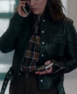 Jodie The Drowning Leather Jacket
