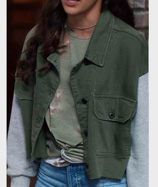 Allegra Garcia The Flash Jacket