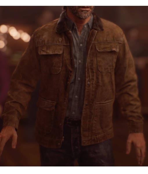 Joel The Last of Us: Part II Leather Jacket
