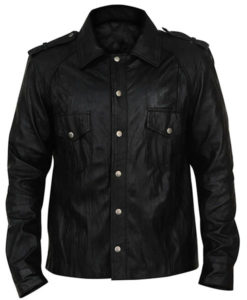 Damon Salvatore The Vampire Diaries Black Jacket