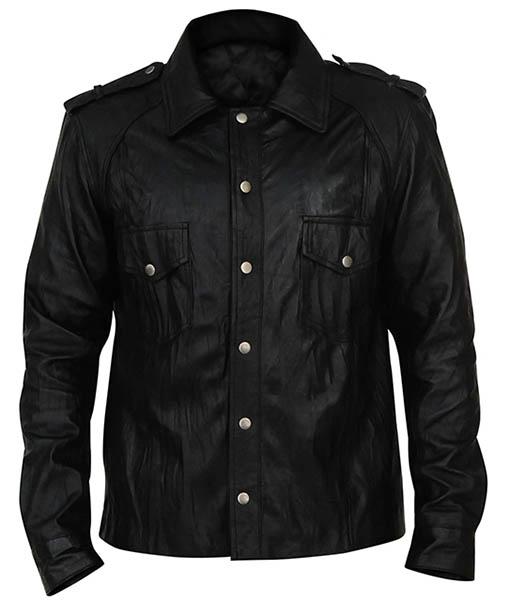 Damon Salvatore The Vampire Diaries Black Jacket