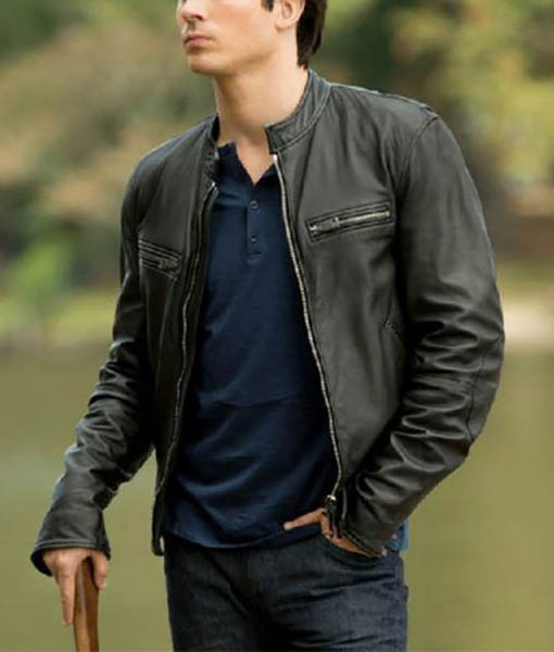 Damon Salvatore The Vampire Diaries Jacket