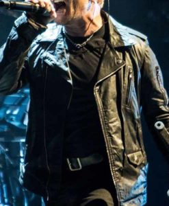U2 Bono Leather Jacket