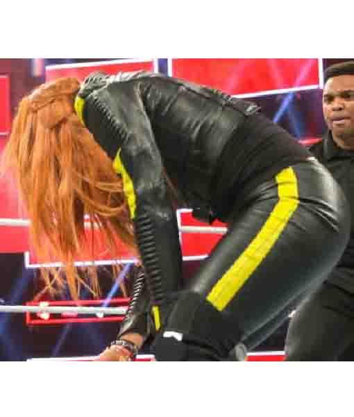 WWE Becky Lynch Leather Jacket