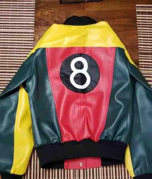 Women's 8 Ball Pool Leather Jacket
