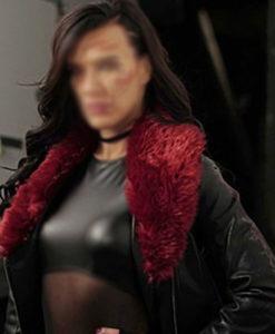 Rhona Acceleration Leather Jacket
